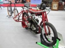 Steher-Maschine von 1930 mit Einliter-V2-Motor