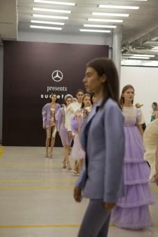 Die Show fand im Georgian Museum of Fine Arts statt und war Teil des International Designer Exchange Program (IDEP) von Mercedes-Benz, in dessen Rahmen weltweit talentierte und aufstrebende Designer gefördert werden. Foto: Mercedes-Benz