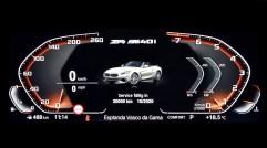 Für den neuen BMW Z4 steht optional das BMW Operating System 7.0 zur Verfügung, das mit modernen, digitalen und präzise an den Bedürfnissen des Fahrers orientierten Funktionen überzeugt. Foto: BMW