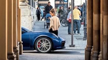Der Blick auf einen Sportwagen lässt unser Gehirn Glücksbotenstoffe ausschütten. © Porsche