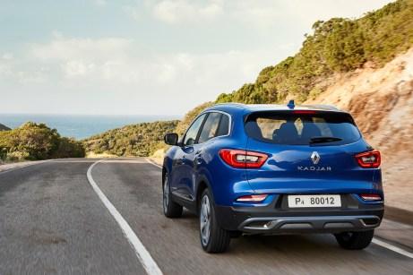 Schöner Rücken: Durch den breiteren Unterfahrschutz wirkt der Kadjar insgesamt etwas flacher. © Renault