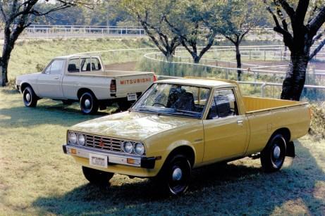 Arbeitstier mit offener Ladefläche: Der Mitsubishi L200 Triton ist bereits seit 40 Jahren ein treuer Begleiter für Pick-up-Freunde. © Mitsubishi
