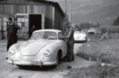 Ein Porsche 356 auf dem alten Produktionsgelände in Gmünd/Österreich. Foto: Auto-Medienportal.Net/Porsche