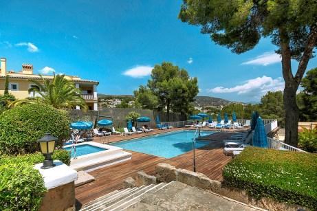 Das Hotel Riu Bonanza Park auf Mallorca ist ideal geeignet für einen Kurztrip ans Meer. Foto: TUI