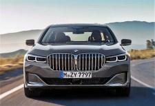Dominant: Der Grill - oder die Niere, wie BMW sagt - hat immense Dimensionen angenommen. © BMW