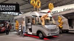 Carthago feiert 40jähriges Bestehen und legt den Chic E-Line 50 DA als Jubiläumsmodell auf, dessen üppige Ausstattung bis zu 20 000 Euro Preisvorteil bieten soll. .Foto: Auto-Medienportal.Net/Michael Kirchberger