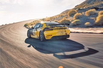 Ökologisches i-Tüpfelchen: Im neusten Cayman-Modell sind Karosserieteile aus Biofasern verbaut. © Porsche