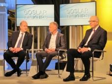 Klaus-Jürgen Heitmann, Prof. Dr. Fred Wagner und Dr. Michael Giese