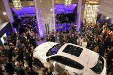 Glanz und Gloria bei der Eröffnung des Maserati-Showrooms in München. Foto: BrauerPhotos / V. Simon fuer Maserati