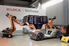 Die Aufbauten für die unterschiedlichen Aufgaben sollen so lange halten wie ein Automobil heute. Foto: Auto-Medienportal.Net/Rinspeed