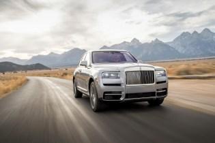 Läuft gut: Der erste SUV der Edelmark Rolls-Royce - der Cullinan. © Rolls-Royce Photo: James Lipman / jameslipman.com