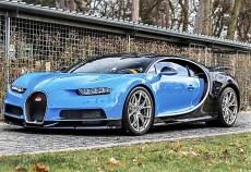 Ein 2017er Bugatti Chiron erzielte 4,138 Millionen Dollar (3,64 Millionen Euro). Foto: Auto-Medienportal.Net/Sotheby's
