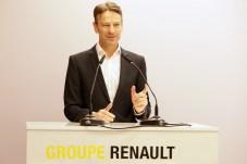 Guter Dinge: Renault-Deutschland-Chef Uwe Hochgeschurtz zeigt sich zufrieden mit dem Geschäftsjahr 2018. © Renault
