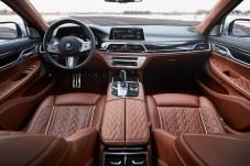Sportlich-luxuriöse Lounge-Atmosphäre herrscht im 7er-BMW. © BMW