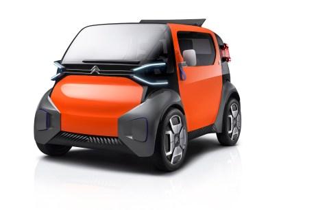 Quadratisch, praktisch, flink: der Citroen Ami One Concept für den urbanen Verkehr. © PSA