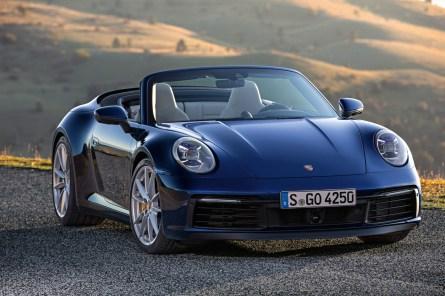 Porsche schiebt nach dem Coupé zwei Cabrio-Versionen des neuen 911er nach. © Porsche