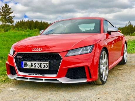 Die Fahreigenschaften des Audi TT RS sind wie von einem anderen Stern. © Klaus H. Frank