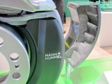 Sägezahn-förmige Gestaltung vergrößert die wirksame Filterfläche.