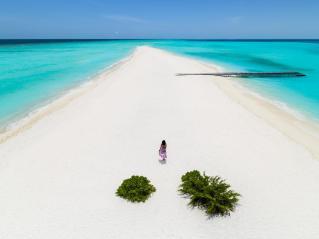 Sandbank auf Kuramathi. © Universal Resorts Maldives