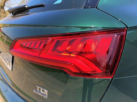 Die LED-Rückleuchten des Audi Q5. © Klaus H. Frank