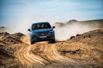 Dank der Auswahl an Antriebsoptionen in Kombination mit dem 4Drive System kann sich der Tarraco an eine Vielzahl von Fahrsituationen anpassen, ob Straße oder Gelände. © Seat
