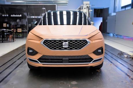 Das letzte Modell, das von Carlos Arcos und seinem Team handmodelliert wurde, war der neue SEAT Tarraco. © Seat