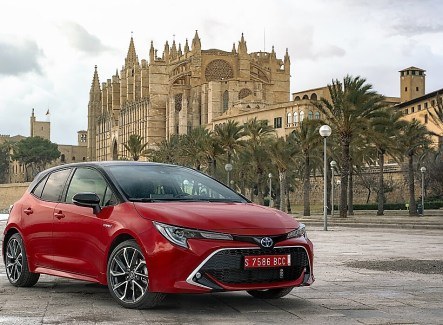 Der Toyota Corolla als Schägheck. © Toyota