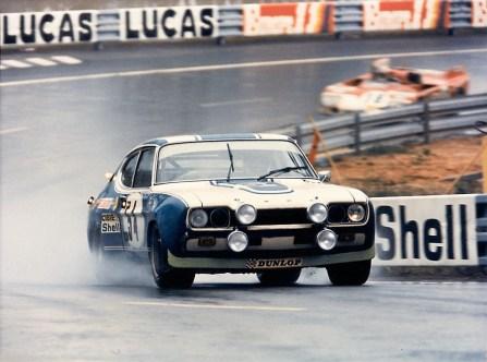 Ein Ford Capri RS in Le Mans (1972). Foto: Auto-Medienportal.Net/Ford