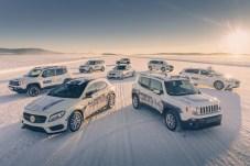 Die GKN-Technologien bei den Wintertestfahrten umfassen alle möglichen Arten von Fahrzeugantrieben: Systeme, die für Verbrennungsmotor-, Hybrid, Plug-In Hybrid- und vollelektrische Antriebsstränge geeignet sind. © GKN