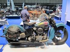 """Bestens zum Touren geeignet: Harley-Davidson E """"Knucklehead"""""""