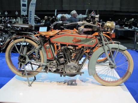 Pope T von 1916 mit 15 PS starkem Einliter-Zweizylinder-V-Motor