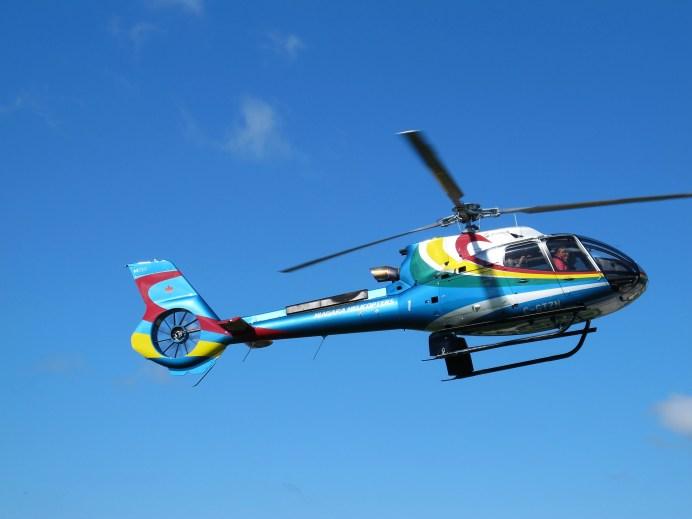 Weltweit leisester Helikopter seiner Klasse ist der H130