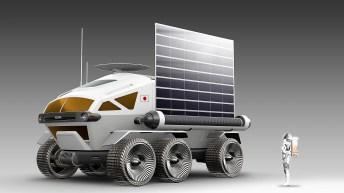 Auf 13 Quadratmetern können zwei, notfalls sogar vier Astronauten zeitweise arbeiten und leben, ohne Raumanzüge tragen zu müssen. © Toyota