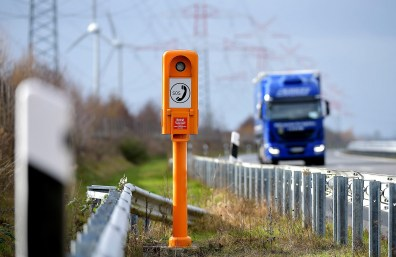 Die im vergangenen Jahr am häufigsten genutzte Notrufsäule steht an der Autobahn 281 in Bremen Richtung Flughafen. Foto: Auto-Medienportal.Net/GDV