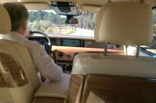 Fahren oder gefahren werden: das ist im Rolls-Royce Phantom die Geschmacksfrage. © Lars Wallerang / mid