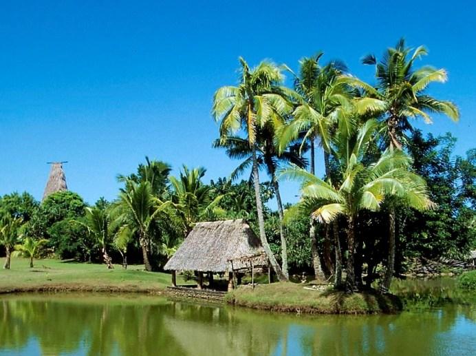 Dorf auf Fidschi © Gebeco Länder erleben