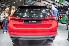 Der neue Scala, Nachfolger des Rapid. Der Verkauf der Basisversionen startet im zweiten Quartal 2019. © Skoda