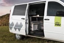 In rund zehn Minuten, so verspricht Visu Sitka, lasse sich ein Großraumvan für relativ wenig Geld in einen Camper verwandeln. Foto: Auto-Medienportal.Net/Visu Sitka
