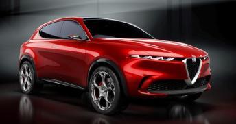 Der Tonale soll nächstes Jahr kommen - hier die Studie. © Alfa Romeo