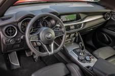 Das Cockpit des Stelvio. © Alfa Romeo