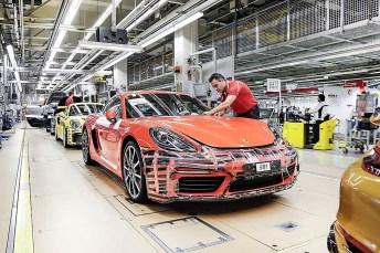 Porsche hat im ersten Quartal 2019 weltweit nur 55 700 Fahrzeuge ausgeliefert: Das entspricht einem Rückgang von zwölf Prozent gegenüber dem Vergleichszeitraum im Vorjahr. © Porsche