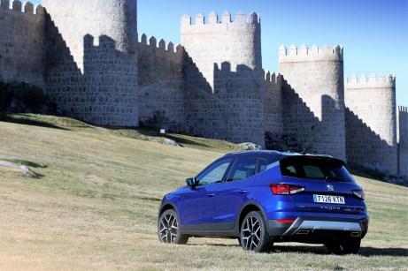 Der Seat Arona TGI - der erste Kompakt-SUV mit Erdgasantrieb. © Seat