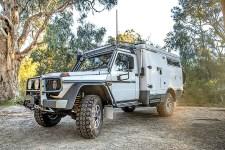 Ein neues Expeditionsmobil von Earthcruiser aus Australien. Basis ist die G-Klasse von Mercedes-Benz in der Ausführung Pro mit einem zulässigen Gesamtgewicht von 4,5 Tonnen. Alle Fotos: Auto-Medienportal.Net/Earthcrusier