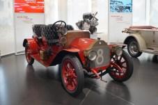 Der erste Rennwagen, der den Namen A.L.F.A. trägt, wie die Firma nach der Gründung 1910 bis 1915 heißt: der 15 HP Corsa von 1911. © Mirko Stepan / mid