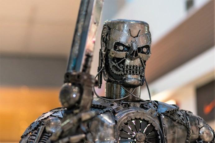 Terminator Genesis aus dem gleichnamigen amerikanischen Science-Fiction-Film von Regisseur Alan Taylor. Foto: Auto-Medienportal.Net/Public Domain Pictures.Net