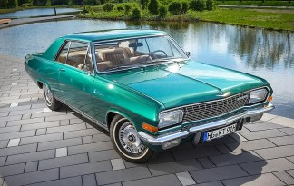 Das Opel Diplomat V8 Coupé mit der Fahrgestellnummer 347 ist das letzte einer bei Karmann gebauten Kleinserie. Foto: Auto-Medienportal.Net/Opel