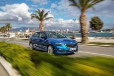 Bei den Testfahrten in Kroatien überzeugte der 115 PS starke Dreizylinder-Turbobenziner mit Drehfreude und zurückhaltender Geräuschkulisse. © Skoda