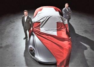 Enthüllung des Piech Mark Zero auf dem Genfer Salon. Foto: Auto-Medienportal.Net/Piech