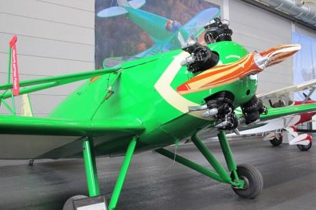 Gemütliches Fliegen erlaubte der 125 PS starke Fünfzylinder des Kinner Sportster.
