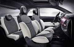 Interieur des Fiat 500 Star. Foto: Auto-Medienportal.Net/Fiat